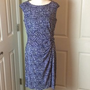 Chaps geometric dress